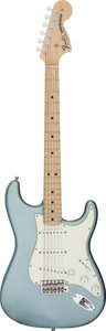 Musical Instruments:Electric Guitars, 2003 Fender Custom Shop Stratocaster Ice Blue Metalic Solid BodyElectric Guitar, Serial # R11816....