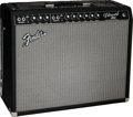 Musical Instruments:Amplifiers, PA, & Effects, Circa 2002 Fender Vibroverb '64 Reissue Black Guitar Amplifier, Serial # 279768....