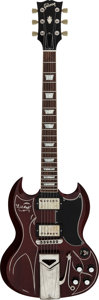 """Musical Instruments:Electric Guitars, 2005 Gibson SG """"Lil Red"""" Replica Cherry Solid Body Electric Guitar, Serial # 00055674...."""