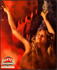 "Dante's Inferno (Fox, 1935). Linen Finish Jumbo Lobby Card (14"" X 17"")"