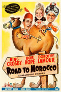 """Movie Posters:Comedy, Road to Morocco (Paramount, 1942). One Sheet (27"""" X 41"""").. ..."""