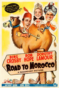 """Road to Morocco (Paramount, 1942). One Sheet (27"""" X 41"""")"""