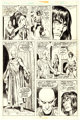 John Buscema and Ernie Chan Conan the Barbarian #43 Story Page 9 Original Art (Marvel, 1974)