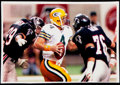 Football Collectibles:Photos, 1992 Brett Favre Green Bay Packers Vintage Photograph. ...