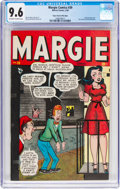 Golden Age (1938-1955):Humor, Margie Comics #39 Mile High Pedigree (Marvel, 1948) CGC NM+ 9.6 Off-white to white pages....