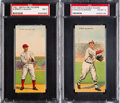 Baseball Cards:Lots, 1911 T201 Mecca Double Headers Pair (2). ...