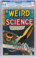 Golden Age (1938-1955):Science Fiction, Weird Science #5 Gaines File Pedigree (EC, 1951) CGC NM 9.4 Off-white to white pages....