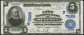 National Bank Notes:Maine, Belfast, ME - $5 1902 Plain Back Fr. 598 The City NB Ch. # (N)7586. ...