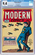 Golden Age (1938-1955):War, Modern Comics #51 Mile High Pedigree (Quality, 1946) CGC NM 9.4White pages....