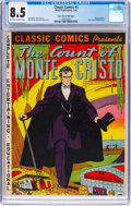 Golden Age (1938-1955):Classics Illustrated, Classic Comics #3 The Count of Monte Cristo - First Edition - Mile High Pedigree (Gilberton, 1942) CGC VF+ 8.5 Off-white to wh...