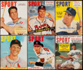 Baseball Collectibles:Publications, Signed SPORT Magazine Lot of 9.... (Total: 9 items)