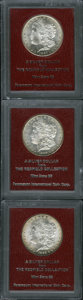 1885 $1 MS65 Paramount International (MS64), Ex: Redfield, a lustrous and attractively struck example with peripheral go...
