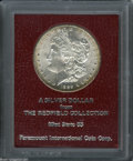 Additional Certified Coins: , 1889-S S$1 Morgan Dollar MS65 Paramount International (MS63). Ex: Redfield. A well struck piece with blazing luster and a b...