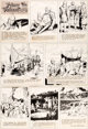 Hal Foster Prince Valiant #1696 Sunday Comic Strip Original Art dated 8-10-69 (King Features Syndicate, 1969).... (Total...