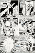 Original Comic Art:Panel Pages, John Buscema and Joe Sinnott Avengers #153 Story Page 16Original Art (Marvel, 1976)....