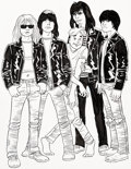 Original Comic Art:Covers, Jaime Hernandez Archie Meets Ramones Second Printing Variant Cover Original Art (Archie Comics, 2016)....