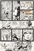 Original Comic Art:Panel Pages, Frank Thorne Marvel Feature V2#2 Story Page 10 Red SonjaOriginal Art (Marvel, 1976)....