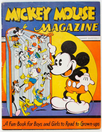 Mickey Mouse Magazine #1 (K. K. Publications/Western Publishing Co., 1935) Condition: VG