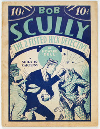 Bob Scully, The Two-Fisted Hick Detective #nn (Humor Publishing Corp., 1933) Condition: VG+