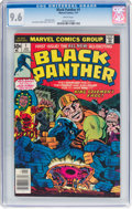 Bronze Age (1970-1979):Superhero, Black Panther #1 (Marvel, 1977) CGC NM+ 9.6 White pages....