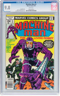 Bronze Age (1970-1979):Science Fiction, Machine Man #1 (Marvel, 1978) CGC NM/MT 9.8 White pages....