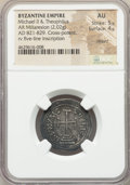 Ancients:Byzantine, Ancients: Michael II the Amorion (AD 820-829), with Theophilus. ARmiliaresion (24mm, 2.02 gm, 12h).NGC AU 5/5 - 4/5,clipped....