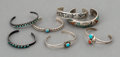 American Indian Art:Jewelry and Silverwork, Seven Southwest Child's Bracelets... (Total: 7 Items)