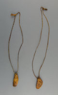 Jewelry:Necklaces, A Pair of Plains Medicine Necklaces... (Total: 2 Items)