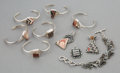 American Indian Art:Jewelry and Silverwork, Ten Southwest Jewelry Items... (Total: 10 Items)