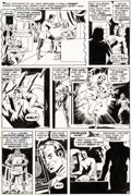Original Comic Art:Panel Pages, Wally Wood Astonishing Tales #2 Story Page 3 Doctor DoomOriginal Art (Marvel, 1970)....