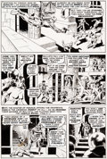 Original Comic Art:Panel Pages, Wally Wood Astonishing Tales #2 Story Page 9 Doctor DoomOriginal Art (Marvel, 1970)....