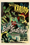 "Movie Posters:Horror, The Body Snatcher (RKO, 1945). One Sheet (27"" X 41""). William Rose Artwork.. ..."