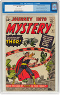 Silver Age (1956-1969):Superhero, Journey Into Mystery #83 (Marvel, 1962) CGC VG- 3.5 Cream tooff-white pages....