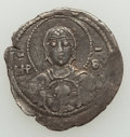 Ancients:Byzantine, Ancients: Romanus IV Diogenes (AD 1068-1071). AR 2/3 miliaresion(20mm, 1.29 gm, 7h). NGC (photo-certificate) Choice VF 3/5 -3/5....