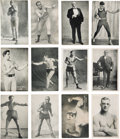 Boxing Cards:General, 1921 Exhibit Boxing and Wrestling Complete Set (64). ...