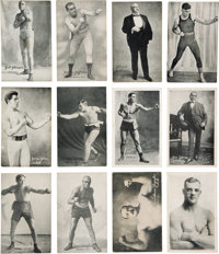 1921 Exhibit Boxing and Wrestling Complete Set (64)