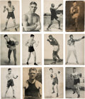 Boxing Cards:General, 1925 (Dated) Exhibit Boxing Near Set (90/101). ...
