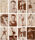Boxing Cards:General, 1927 Exhibit Boxing Near Set (96/99). ...