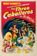 "Movie Posters:Animation, The Three Caballeros (RKO, 1945). One Sheet (27"" X 41"").. ..."