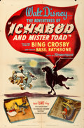 """Movie Posters:Animation, The Adventures of Ichabod and Mr. Toad (RKO, 1949). One Sheet (27"""" X 41"""").. ..."""