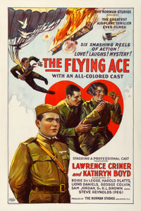 "The Flying Ace (Norman, 1926). One Sheet (27"" X 41"")"