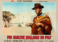 """Movie Posters:Western, For a Few Dollars More (PEA, 1965). Italian Double Photobusta (36.5"""" X 26"""").. ..."""