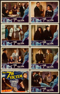 """Movie Posters:Mystery, The 7th Victim (RKO, 1943). Lobby Card Set of 8 (11"""" X 14"""").. ...(Total: 8 Items)"""