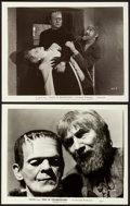 """Movie Posters:Horror, Son of Frankenstein (Universal, 1939). Photos (2) (8"""" X 10"""").. ... (Total: 2 Items)"""