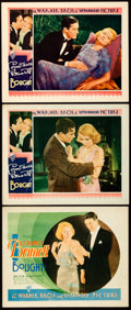 "Movie Posters:Romance, Bought! (Warner Brothers, 1931). Title Lobby Card & Lobby Cards (2) (11"" X 14""). From the Collection of Frank Buxton, of w... (Total: 3 Items)"