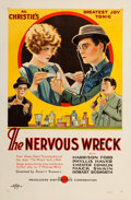 """Movie Posters:Comedy, The Nervous Wreck (Producers Distributing Corp., 1926). One Sheet(27"""" X 41""""). From the Collection of Frank Buxton, of whi..."""