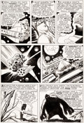"""Original Comic Art:Panel Pages, Jack Kirby and Dick Ayers Journey Into Mystery #66 StoryPage 4 """"The Hulk"""" (aka Xemnu the Ti..."""