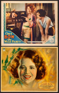 "Movie Posters:Comedy, The Wild Party (Paramount, 1929). Deluxe Lobby Card & Lobby Card (11"" X 14"") William Hanneman Artwork.. ... (Total: 2 Items)"