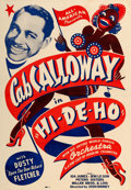 "Movie Posters:Black Films, Hi De Ho (All-American, 1947). One Sheet (28"" X 40.5"").. ..."
