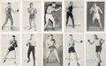 Boxing Cards:General, 1922 Exhibit Boxing Near Set (30 different)...